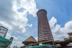 Kenyatta International Convention Center, Nairobi, Kenya Royaltyfria Foton