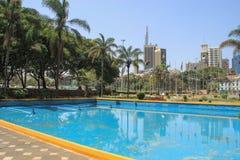 The Kenyatta International Convention Center royalty free stock photos