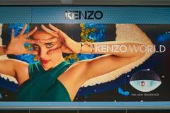 Kenzo reklama obraz stock