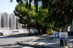 Keo - the brewery in Cyprus Stock Photo