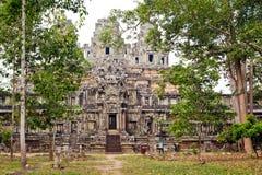 keo Kambodja van de de 10de eeuw Hindoese Tempel Ta Stock Foto