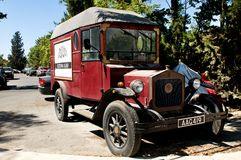 Keo veteran car - the brewery in Cyprus Royalty Free Stock Photography