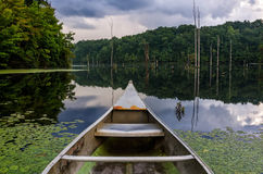 Keokeemeer, de zomer Zuidwestelijk Virginia stock afbeelding