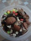 Kepal milo för glass arkivfoton