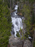 Kepler Cascades. In Yellowstone National Park Stock Photo
