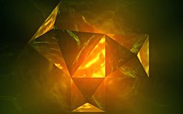 Kepler triangle. A Kepler triangle is a right triangle with edge lengths in geometric progression. The ratio of the edges of a Kepler triangle are linked to the Royalty Free Stock Photo