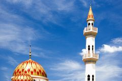 Kepong Mosque Stock Images