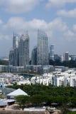keppel podpalany marina Singapore Fotografia Royalty Free