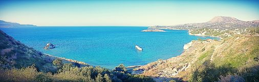 Kera Bay Crete royalty free stock image