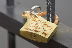 Kera & Cody Locks of Love Stock Image