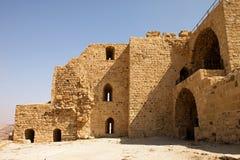 Kerak筑堡垒于的城镇的墙壁  库存照片