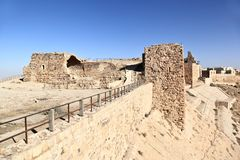Kerak Crusader Fortress, Jordan Royalty Free Stock Photos