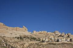 Kerak in Jordan Stock Photo