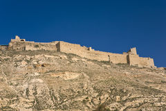 Kerak, Jordanie Image libre de droits