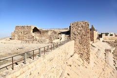 Kerak krzyżowa forteca, Jordania Zdjęcia Royalty Free