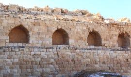 Kerak krzyżowa forteca, Jordania Fotografia Stock