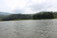 Kerala湖 库存图片