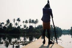 Kerala avkrokar Arkivbild