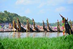 Kerala avkrokar, lopp och turism, festival av kerala Royaltyfria Foton