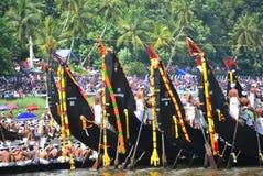 Kerala avkrokar, lopp och turism, festival av kerala Arkivbild