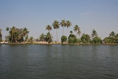 Kerala Backwaters Stock Photos