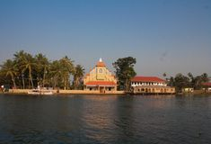 Kerala Backwaters Royalty Free Stock Photography