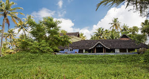 Kerala Backwaters Executive Bungalow Homestead Stock Photos
