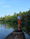 Kerala Backwaters, India Stock Photography