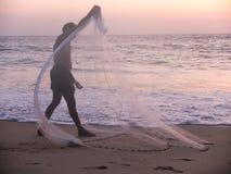 Kerala Backwaters, India Stock Images