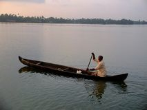Kerala Backwaters, India Stock Photo