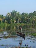 Kerala Backwaters, India Royalty Free Stock Images