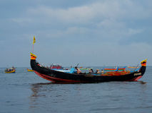Kerala Backwaters, India Stock Image