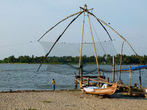 Kerala Backwaters, India Stock Photography