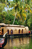 Kerala backwaters Stock Photography