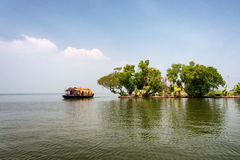 Kerala backwaters Stock Photo
