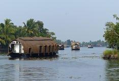 Kerala backwaters Stock Photography