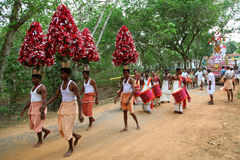 Kerala festival. Stock Images