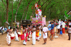 Kerala festival. Royalty Free Stock Photos