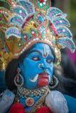 KERALA, INDIA - Januari, 17: Het festival van de Pooramtempel op Januari, Stock Foto's