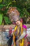 KERALA INDIEN - Januari, 17: Pooram tempelfestival på Januari, Arkivbild