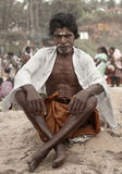 KERALA - JULY 30: Acolyte of a Hindu Priest Royalty Free Stock Image