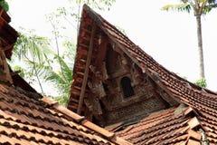Kerala model house Royalty Free Stock Images