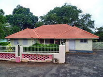 Kerala Model House. Kerala traditional and small house Royalty Free Stock Images