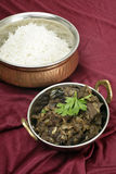 Kerala mutton liver fry vertical Royalty Free Stock Photo