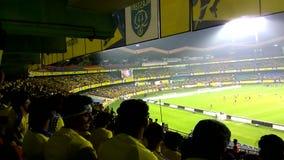 Kerala niszczycieli fan tworzy meksykanin falę podczas aa dopasowania zdjęcie wideo