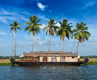 Kerala paradise on houseboat Stock Image