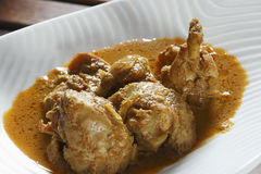 Kerala Special Chicken Curry Royalty Free Stock Images