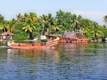 Kerala-Stauwasser Lizenzfreies Stockbild