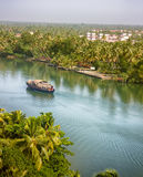 Kerala-Stauwasser Stockfoto