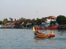 Kerala-Stauwasser, Indien Stockfotografie
